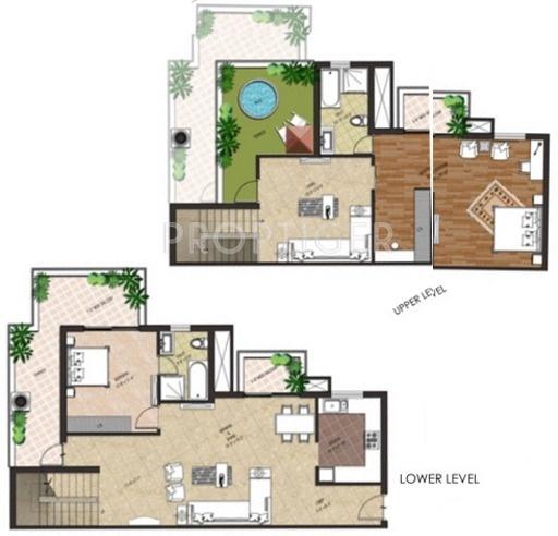 Tivoli Holiday Village (2BHK+2T (2,519 sq ft) 2519 sq ft)