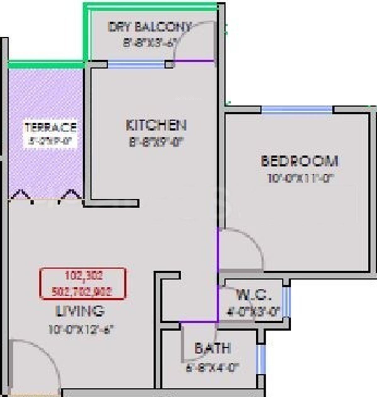 Bloom residency in alandi pune price location map for X2 residency floor plan