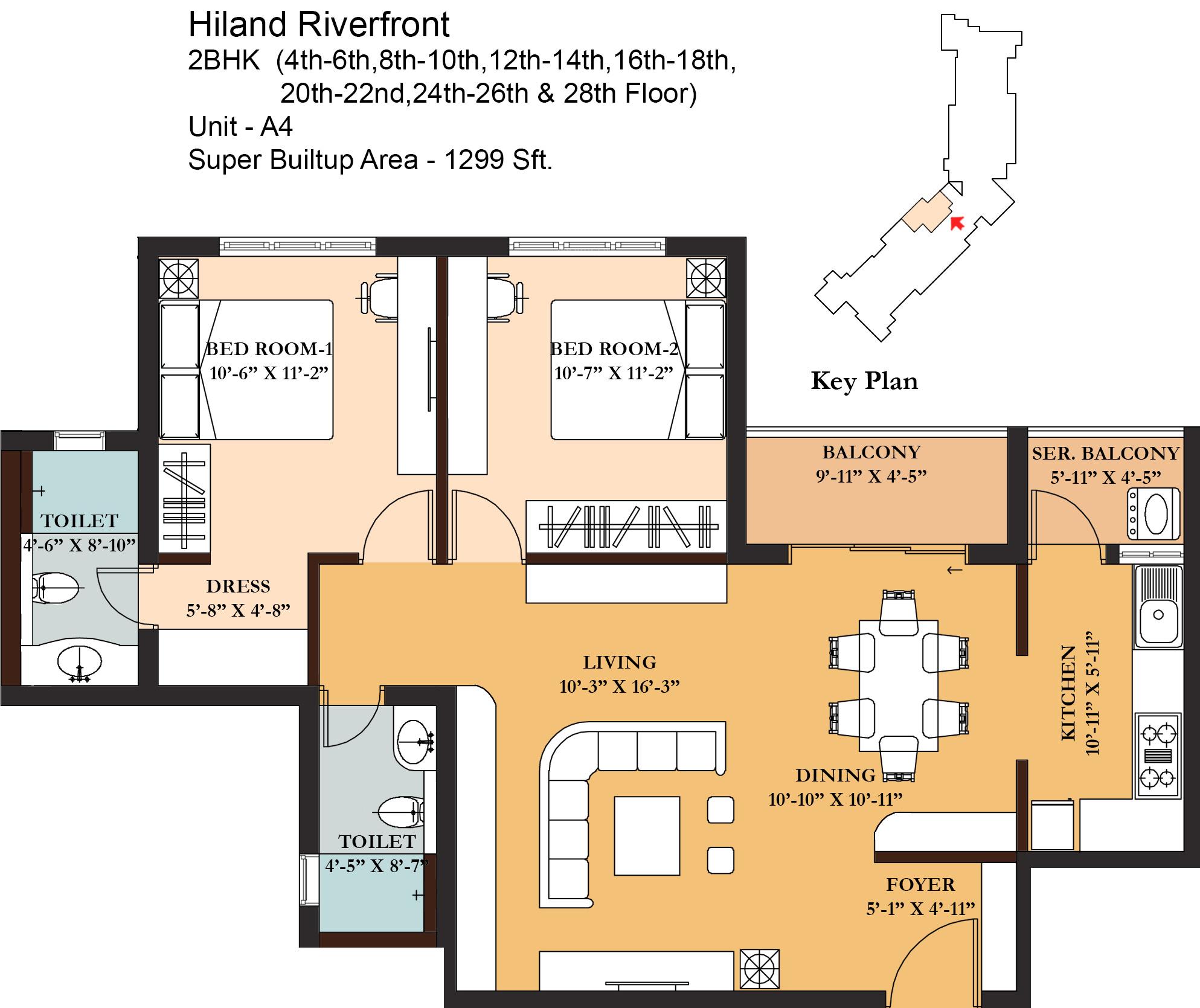 Hiland riverfront in maheshtala kolkata price location for Riverfront home plans