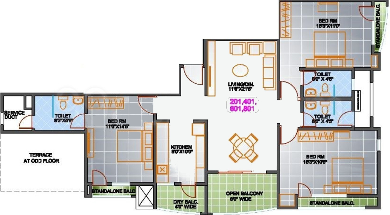 Srs regent heights in sopan baug pune price location Regent heights floor plan