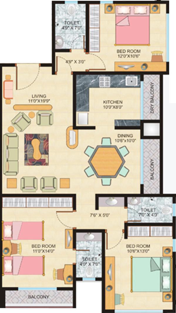 Ml vijaya apartments in ville parle west mumbai price for 12th floor apartments