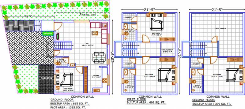 Shreeji Villa (4BHK+4T (1,713 sq ft) 1713 sq ft)