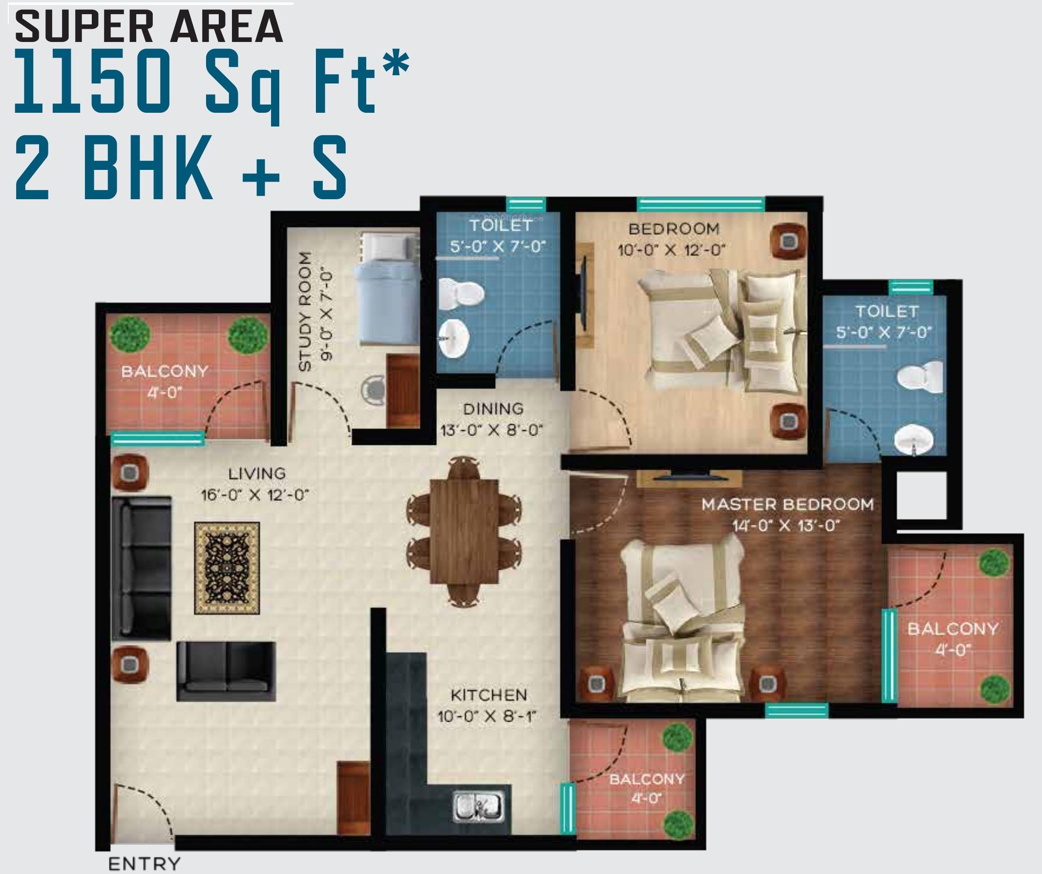 Revanta smart homes in chhawla delhi price location for Smart home floor plans