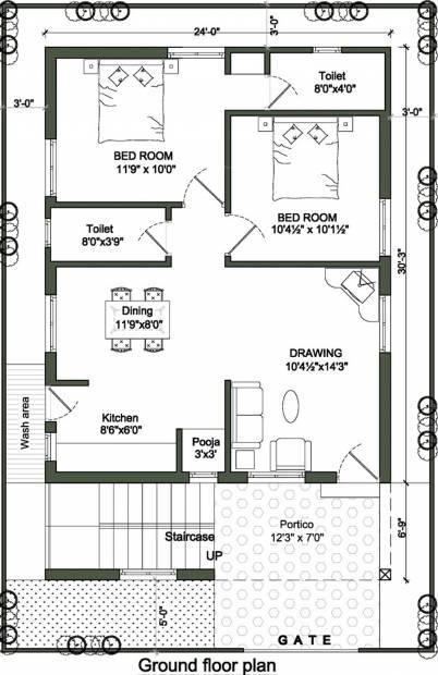 900 sq ft 2 bhk floor plan image sri jagathswapna for 900 sq ft apartment floor plan