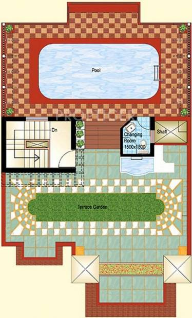 Ansal Florence Marvel (4BHK+5T (3,469 sq ft)   Servant Room 3469 sq ft)