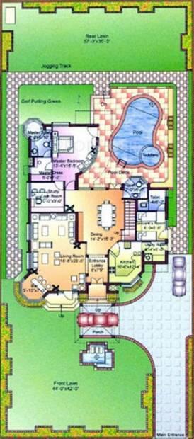 Ansal Florence Elite (3BHK+3T (3,534 sq ft) + Pooja Room 3534 sq ft)