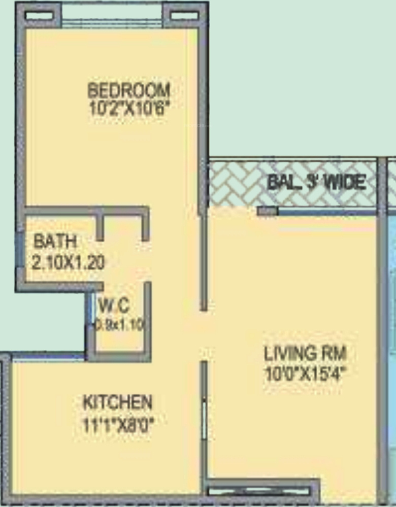 Dajikaka anantsrishti apartments phase 3 in jambhul pune for 12th floor apartments odessa