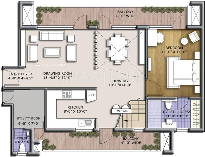 BPTP Discovery Park (4BHK+4T (2,440 sq ft) 2440 sq ft)