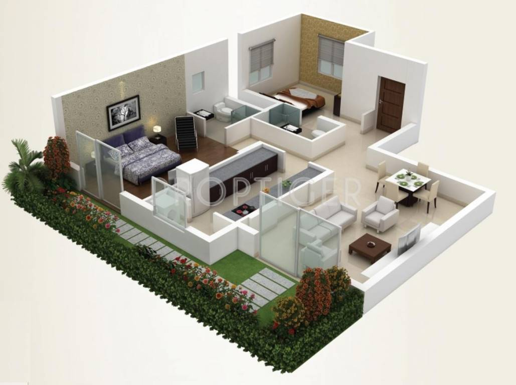 1000 Sq Ft 2 Bhk 2t Apartment For Sale In Gem Group Grove