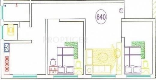 Shree mahavir patwa city in bhiwandi mumbai price for 640 square feet floor plan