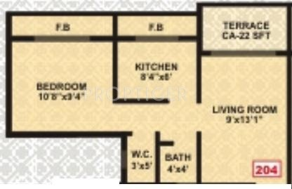 720 sq ft 1 bhk floor plan 1bhk 1t 720 sq ft image for 720 sq ft apartment floor plan