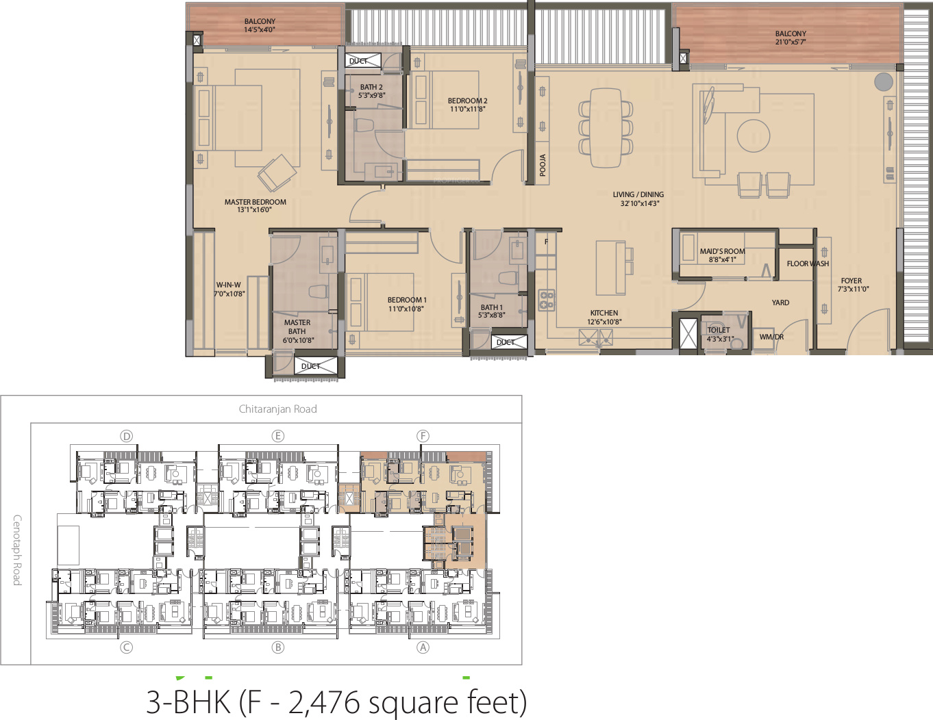Olympia Good Wood Residence In Alwarpet Chennai Price