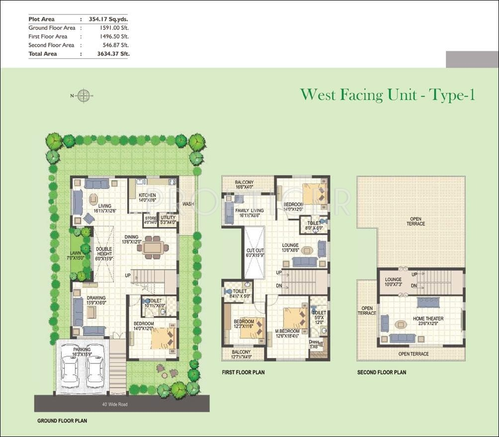 Green icons isle in shamshabad hyderabad price for Green floor plans