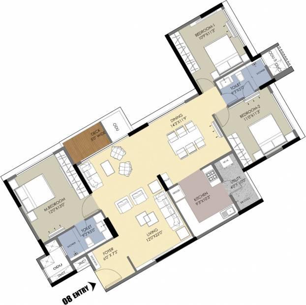 m-one Floor Plan Floor Plan