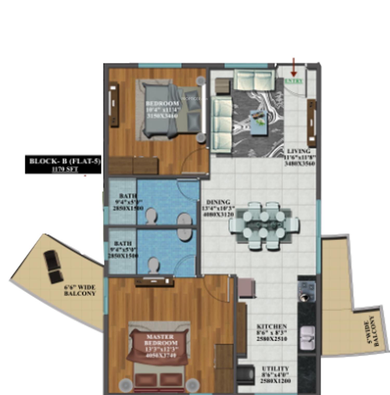 Candeur Carlisle In Mahadevapura Bangalore Price Location Map Floor Plan Reviews Proptiger Com