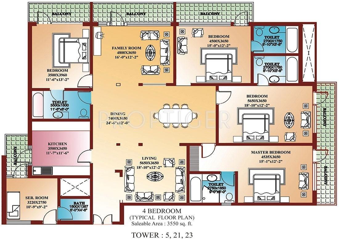 4 Bedroom House Plans amp Home Designs  Celebration Homes