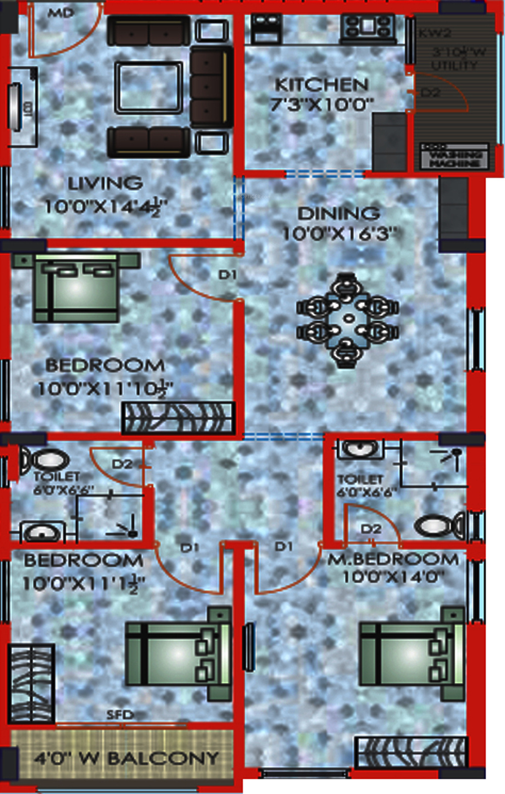 Riddhi lake view in manikonda hyderabad price location for Lake view floor plans