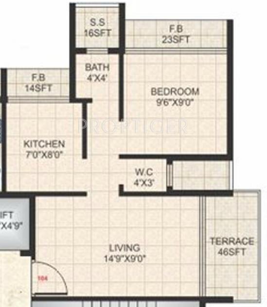 Sm acumen in ulwe mumbai price location map floor for 675 sq ft floor plan