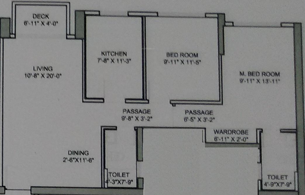 Hiranandani developers castle rock in powai mumbai for Castle rock floor plans