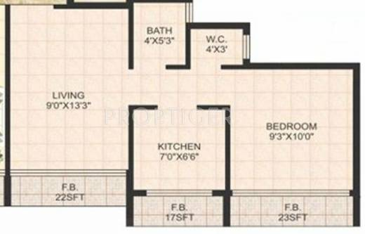 380 sq ft 1 bhk 1t apartment for sale in sm developers for 380 square feet floor plan