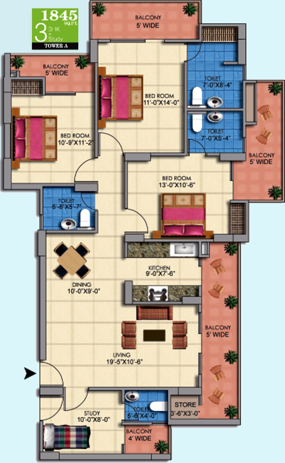 mascot manorath by mascot homes in sector 16 noida