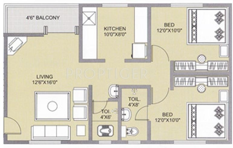 Sq Ft Bhk Apartment For Sale In Alcon Regina Sopan Baug Pune