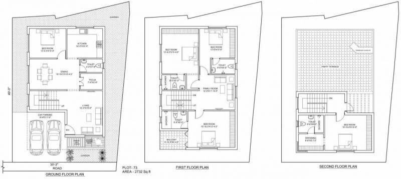 Poomalai The Wind (4BHK+4T (2,732 sq ft)   Study Room 2732 sq ft)