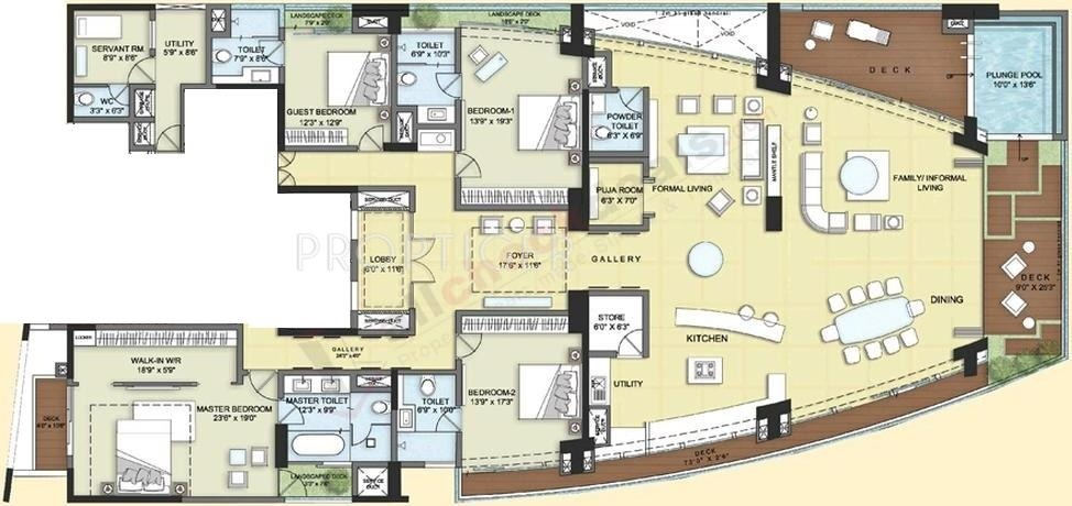 6000 Sq Ft 4 Bhk 4t Apartment For Sale In Akshaya Homes