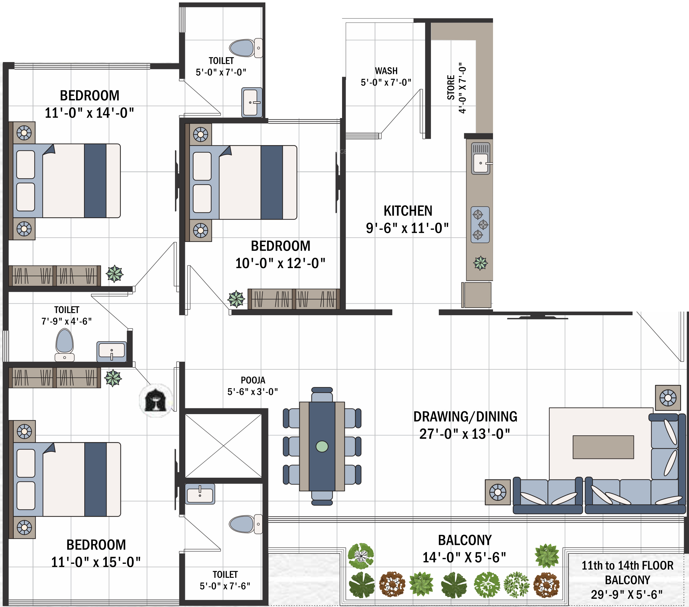 100 parkview floor plan leo our community parkview for Parkview homes floor plans