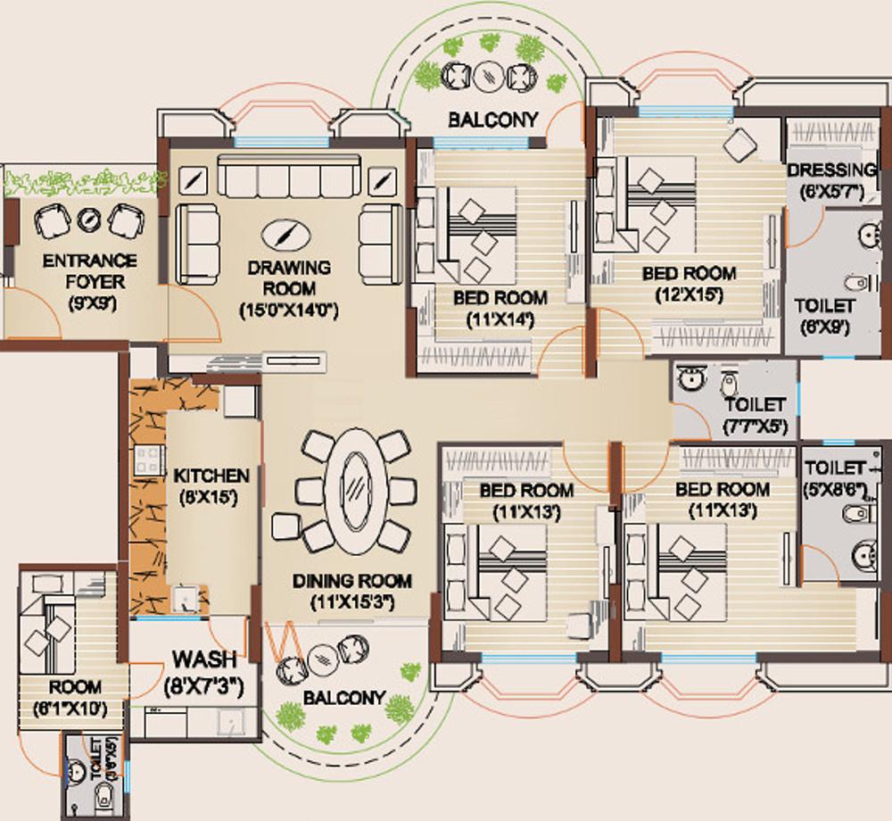 100 Paras Homes Floor Plans Plan