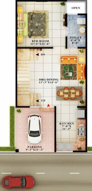 Aarvanss Independent Luxurious Villas (3BHK+3T (1,690 sq ft) 1690 sq ft)