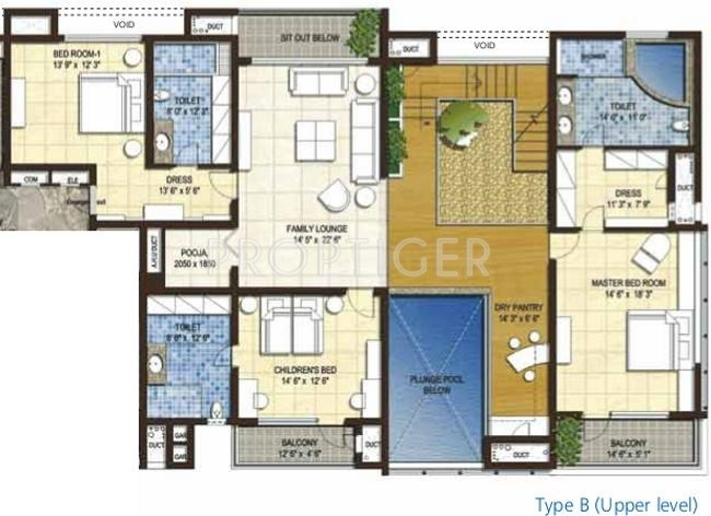 6500 sq ft 4 bhk 5t apartment for sale in olympia group for 6500 square foot house plans