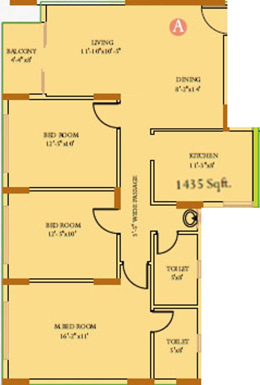 Ideal residency in kankurgachi kolkata price location for X2 residency floor plan