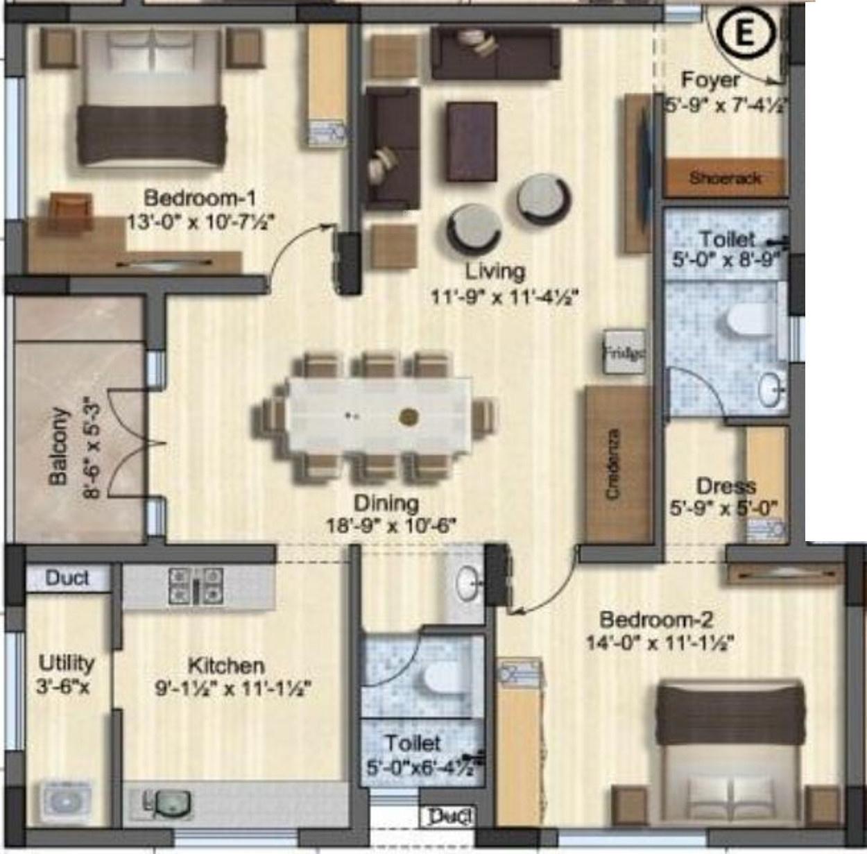 Mayflower Estate Apartments In Thudiyalur Coimbatore