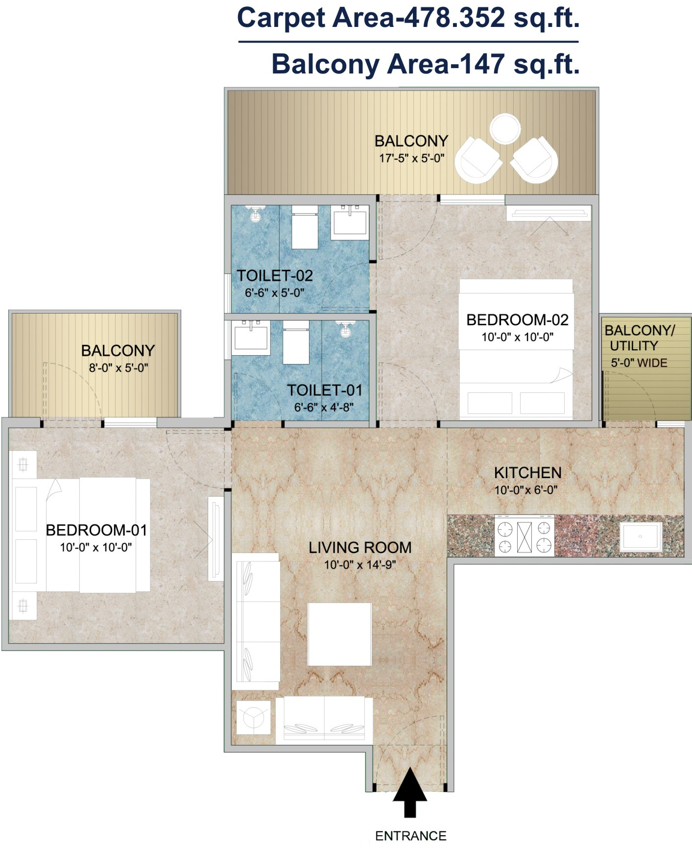 Adore Happy Homes Grand In Sector 85, Faridabad Price, Location House  Electrical Wiring Diagrams 1 Bhk House Wiring Diagram