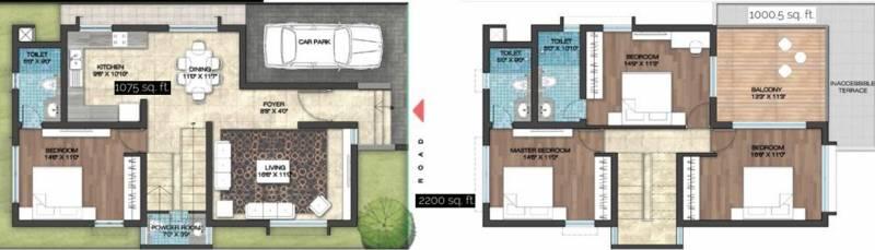 Yesh Farm Villas (4BHK+4T (2,200 sq ft) 2200 sq ft)