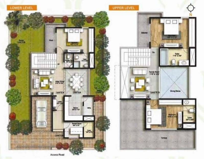 Connect Parkwood (3BHK+3T (2,700 sq ft) 2700 sq ft)