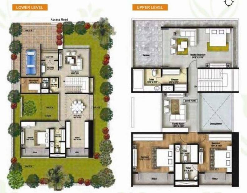 Connect Parkwood (4BHK+5T (3,500 sq ft) 3500 sq ft)