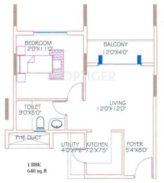 1550 Sq Ft 3 Bhk 3t Apartment For Sale In Shriram