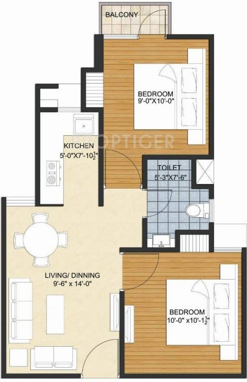 390 sq ft 1 bhk 1t apartment for sale in avalon homes for 650 sq ft apartment floor plan