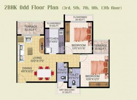 3000 sq ft 5 bhk 5t apartment for sale in shree balaji for 3000 sq ft apartment floor plan
