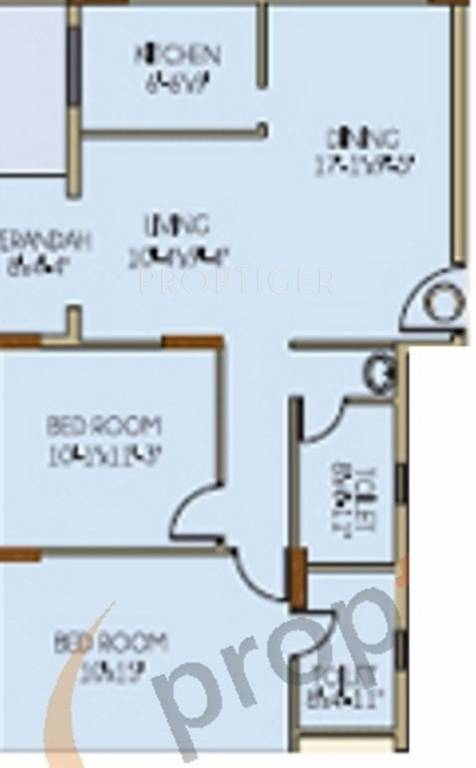 1120 sq ft 2 bhk 2t apartment for sale in ideal group for 1120 westchester place floor plan