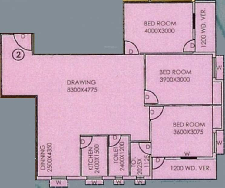 Somani Madhu Malancha (3BHK+2T (1,604 sq ft) 1604 sq ft)