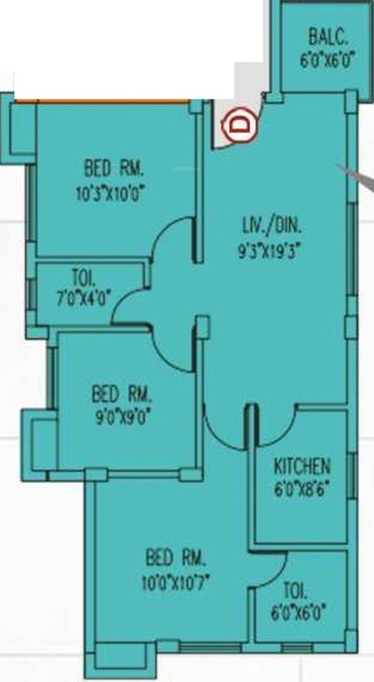 Aspira Joy in Sodepur, Kolkata - Price, Location Map, Floor Plan ...