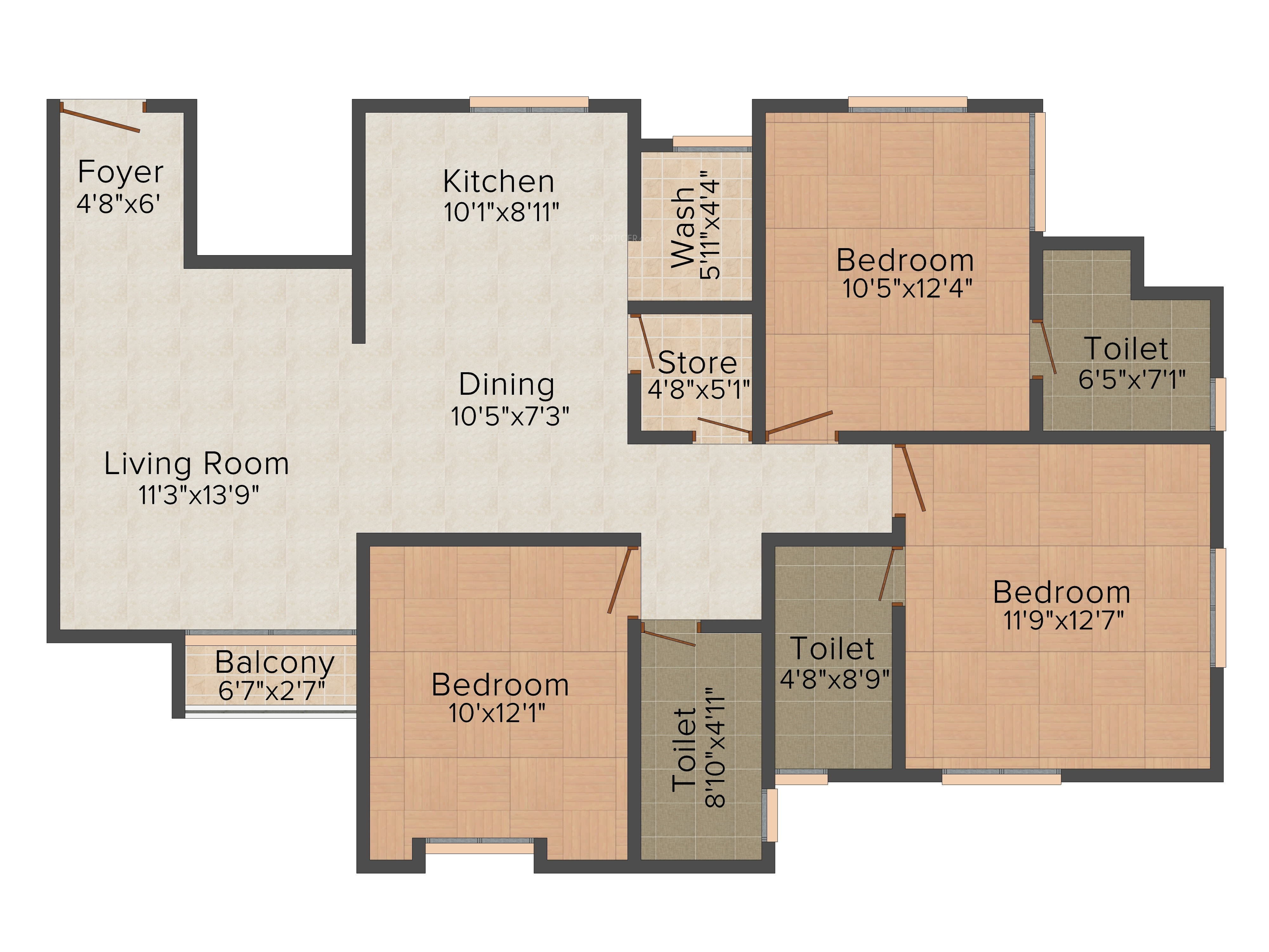 Pratham Riviera Apartments In Atladara Vadodara Price