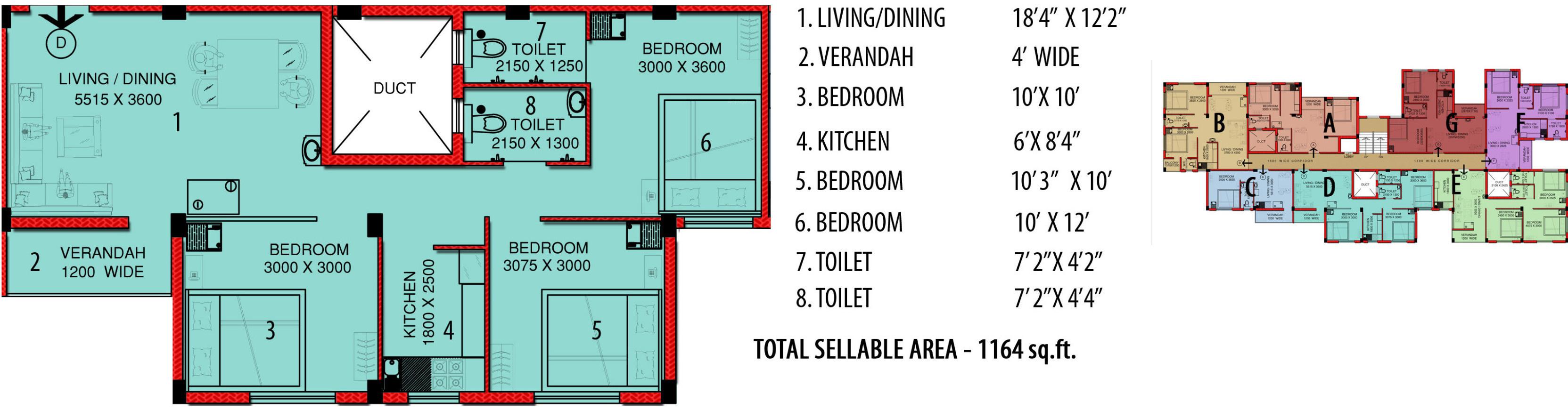 SSS Puspanjali in Nayabad, Kolkata - Price, Location Map, Floor Plan ...