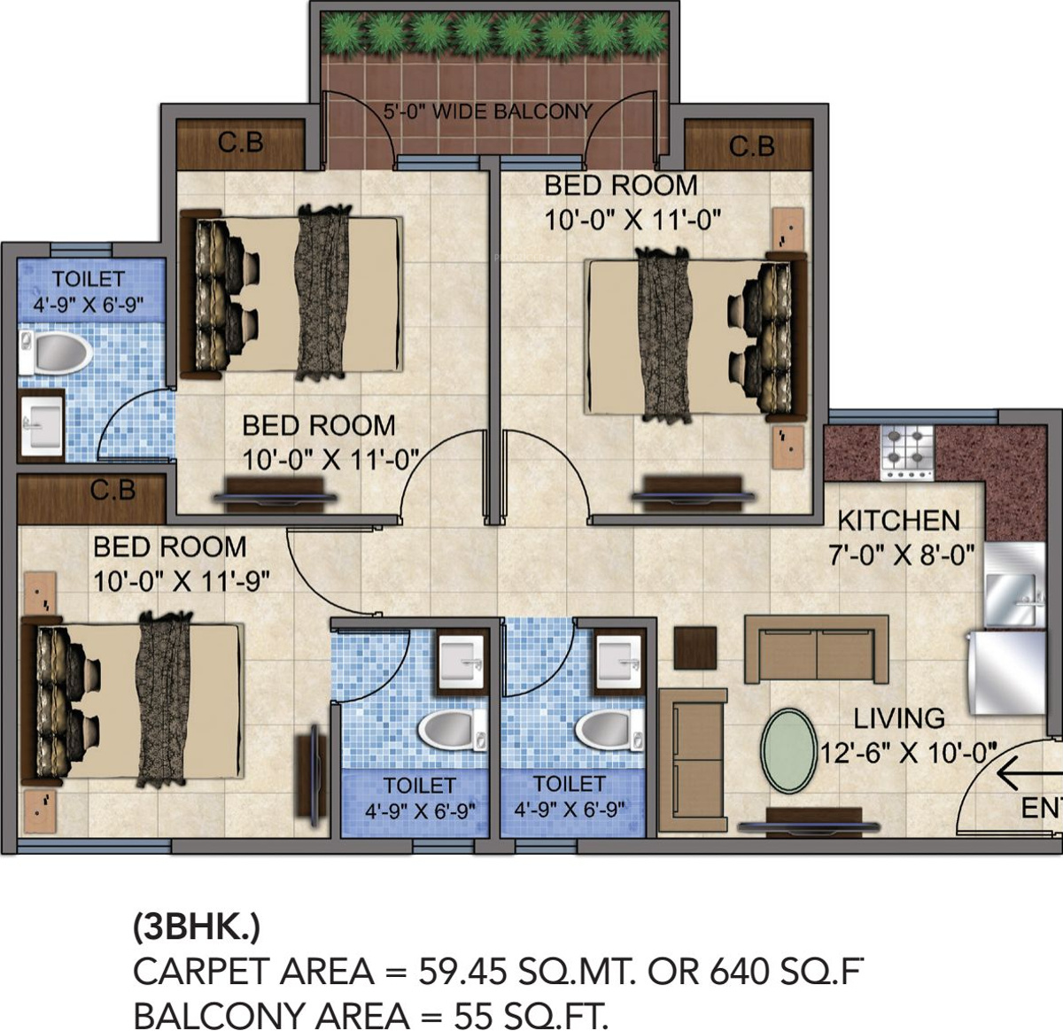 100 640 Square Feet Floor Plan Cost Of Building A