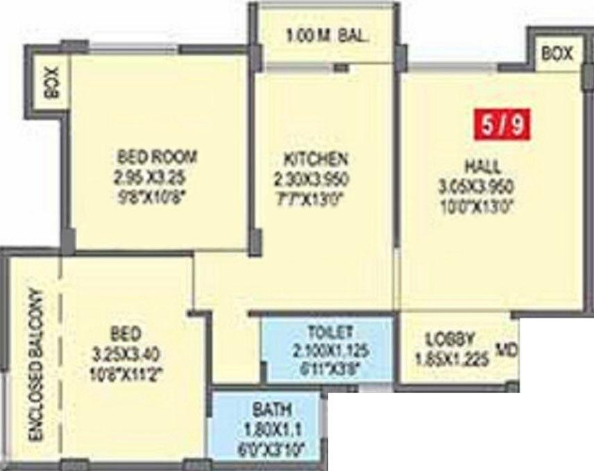 Sara akruti in waluj aurangabad price location map for Floor plan creator windows 7