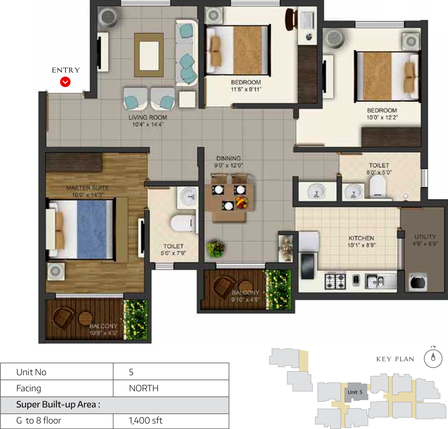 1400 sq ft 3 bhk 2t apartment for sale in deccan habitat deccan habitat 3bhk 2t 1 400 sq ft 1400 sq ft