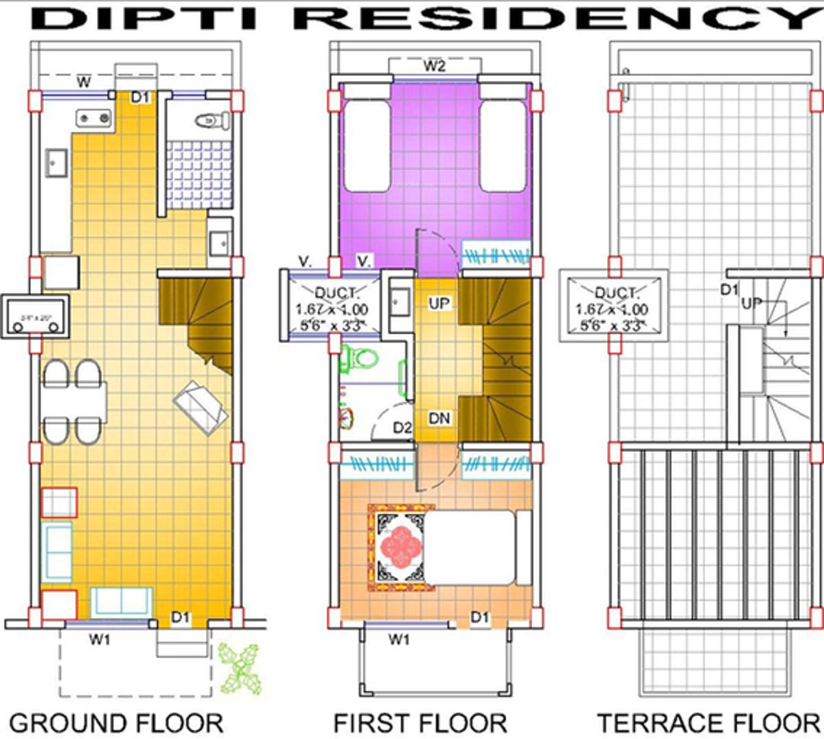 Dipti residency in morewadi kolhapur price location for Floor plan creator for windows 7